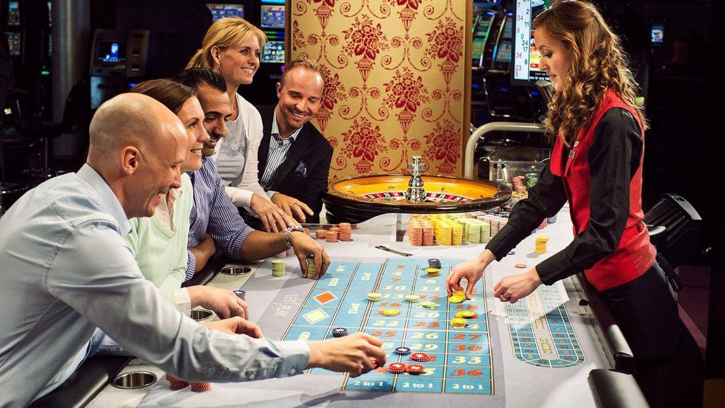 Чаевые в казино